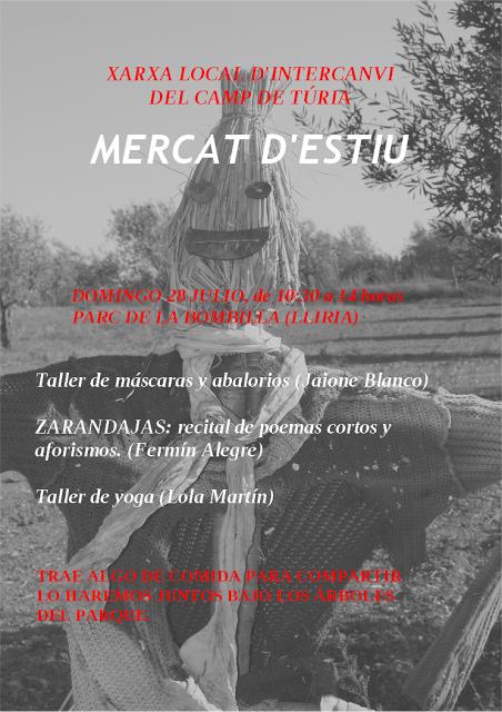 Mercat d´estiu, Llíria, 28-7-2013