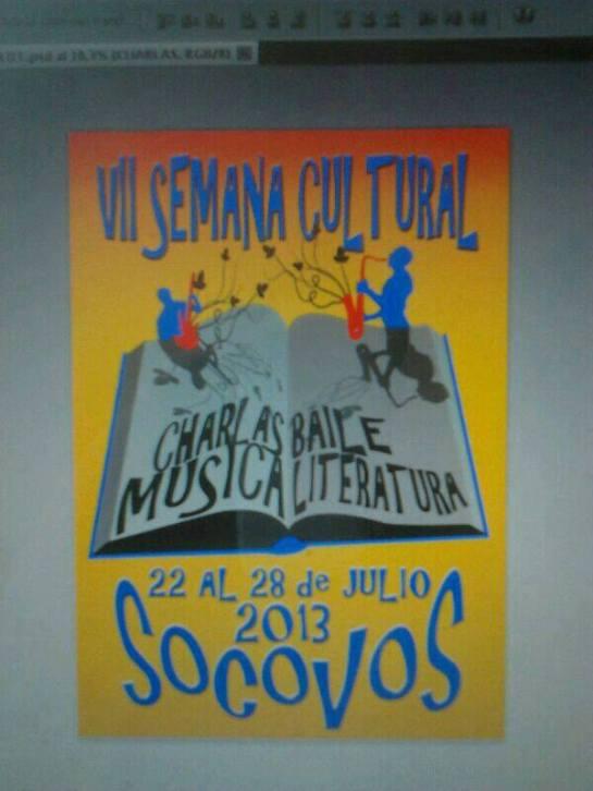 Recital de poesía en Socovos (Albacete), 26-7-2013