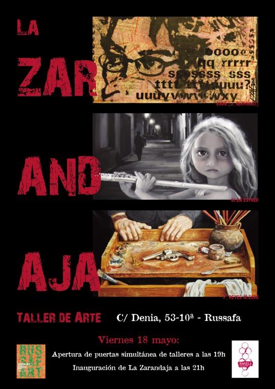 Russafart: Taller La Zarandaja, Russafa, 18-5-2012