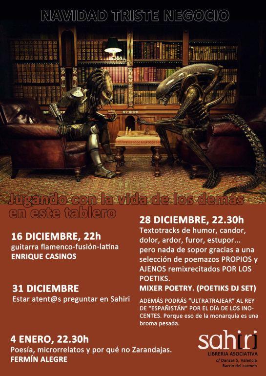 Llibreria Sahiri, Valencia, 4-1-2013